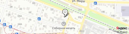 Мастерская по ремонту одежды на карте Пятигорска