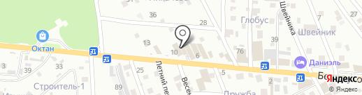 Магазин электротоваров на карте Пятигорска