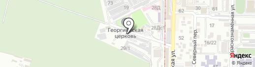 Ритуальная компания на карте Пятигорска
