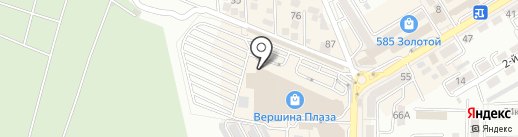 OCHNIK на карте Пятигорска