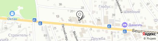 Отопление-сервис на карте Пятигорска