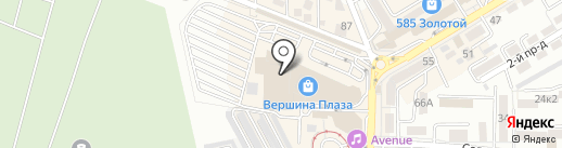 Mexx на карте Пятигорска