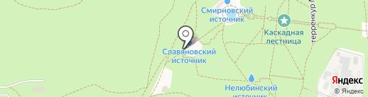 Целебные травы Кавказа на карте Железноводска
