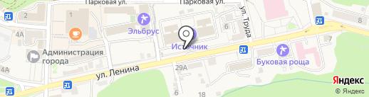 Отдел надзорной деятельности по г. Железноводску на карте Железноводска
