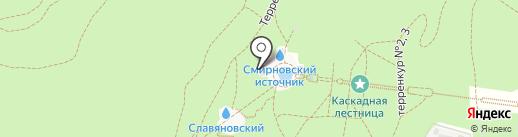 Смирновская галерея на карте Железноводска
