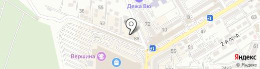 7 Бочек на карте Пятигорска