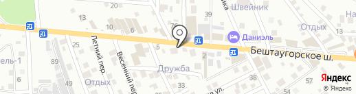 Юг-Профи Эксперт на карте Пятигорска
