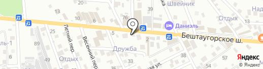 Камины на карте Пятигорска
