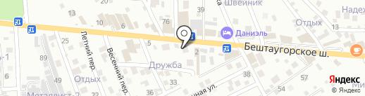 Теплоснаб на карте Пятигорска