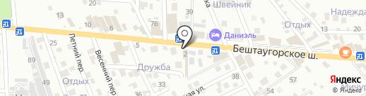 Moto-City на карте Пятигорска