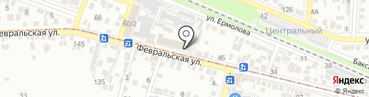 Дело вкуса на карте Пятигорска