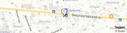 Магазин памятников на карте Пятигорска