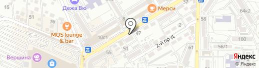 Страховое агентство на карте Пятигорска