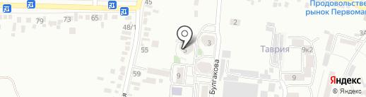 Арбуз на карте Пятигорска