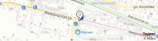 Хлеб на карте Пятигорска