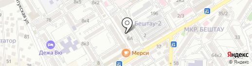 Мастер-Бланк на карте Пятигорска