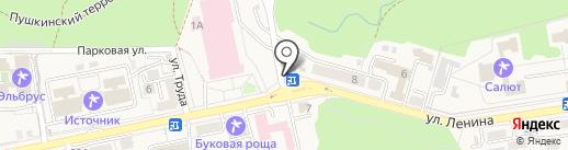 SPA hotel Рафаэль на карте Железноводска