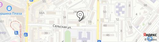 Panda на карте Пятигорска