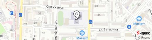 Средняя общеобразовательная школа №29, Гармония на карте Пятигорска