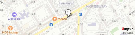 Арома на карте Пятигорска