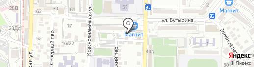 Ideal на карте Пятигорска