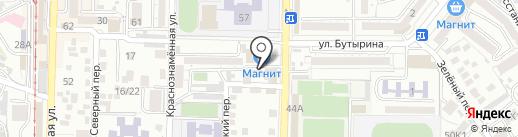 Продукты из Пензы на карте Пятигорска