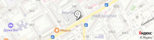 СушиЯ на карте Пятигорска
