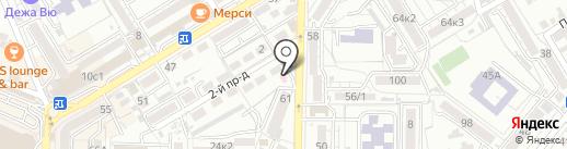 Аптека на карте Пятигорска