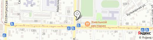 Habibi на карте Пятигорска