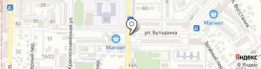 Дом быта на карте Пятигорска