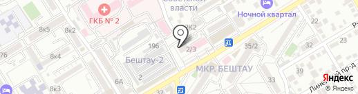 3С на карте Пятигорска
