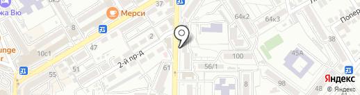Винсадский молочный завод на карте Пятигорска