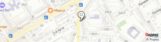 Канц-Маркет на карте Пятигорска