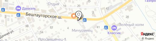 Car на карте Пятигорска