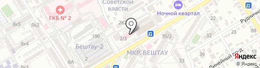 Женская консультация №3 на карте Пятигорска