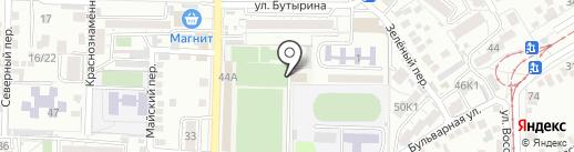 СШОР №6 по футболу на карте Пятигорска