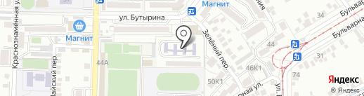 Институт Управления, Бизнеса и Права на карте Пятигорска