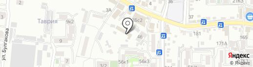 ДОСААФ России на карте Пятигорска