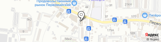 Мастер-Дент на карте Пятигорска