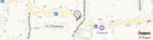 ТРИ УГЛА на карте Свобод