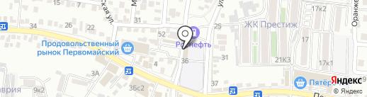 Кавминводский центр профессиональной подготовки Федерального дорожного агентства на карте Пятигорска