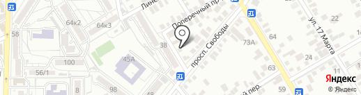 Avtomoika.66 на карте Пятигорска