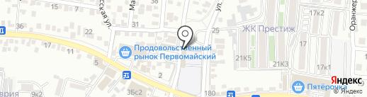 Кавминводский центр профессиональной подготовки и повышения квалификации кадров Федерального дорожного агентства на карте Пятигорска