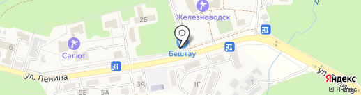 Галина на карте Железноводска