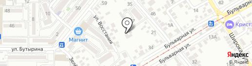 Медико-косметологический центр на карте Пятигорска