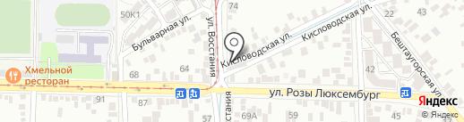 VIP Мойка на карте Пятигорска
