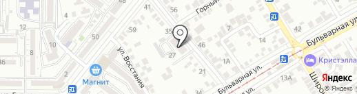 Микрофон Global на карте Пятигорска