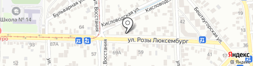 ARG-OILMOTORS на карте Пятигорска