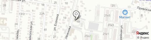 Спецпожзащита на карте Пятигорска
