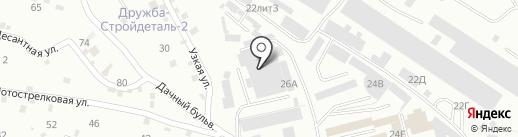 ХБК Шуйские ситцы на карте Пятигорска